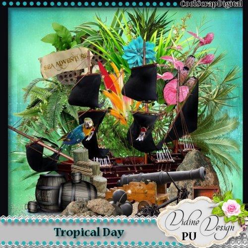 Скрап-набор Tropical Day
