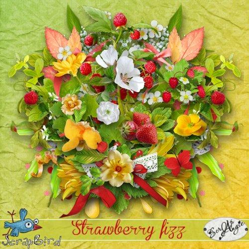 Скрап-набор Strawberry fizz