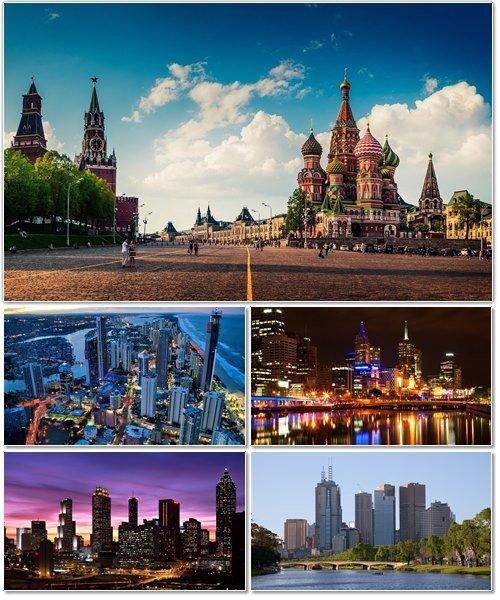 Фото архитектуры крупных городов мира на фон рабочего стола 25