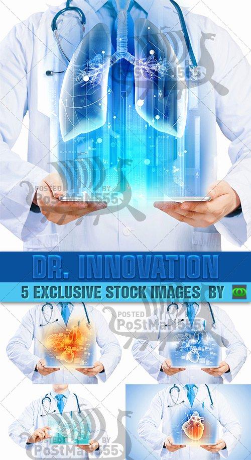 STOCK IMAGES - Доктор Инновации планшетных ПК / Dr. Innovation Tablet PC