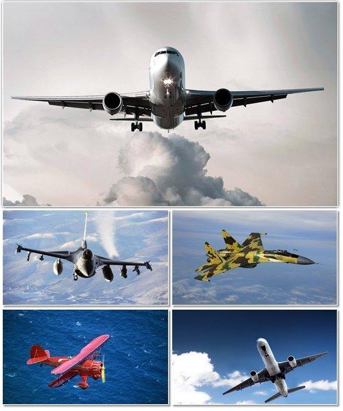Авиация на обоях для оформления рабочего стола 1