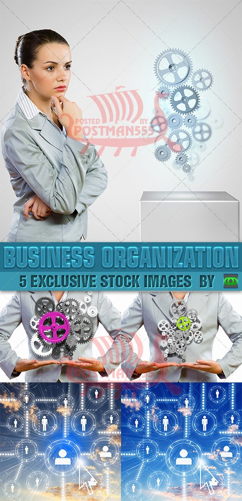 STOCK IMAGES - Организация бизнеса / Business organization