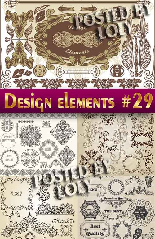 Элементы Дизайна #29 - Векторный клипарт