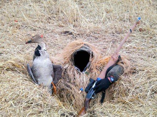 Шаблон для фотомонтажа - Маскировка на охоте