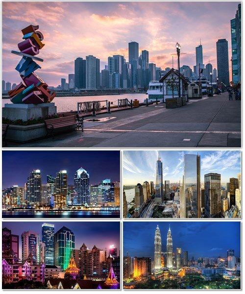 Фото архитектуры крупных городов мира на фон рабочего стола 28