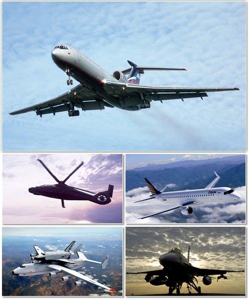 Авиация на обоях для оформления рабочего стола 4