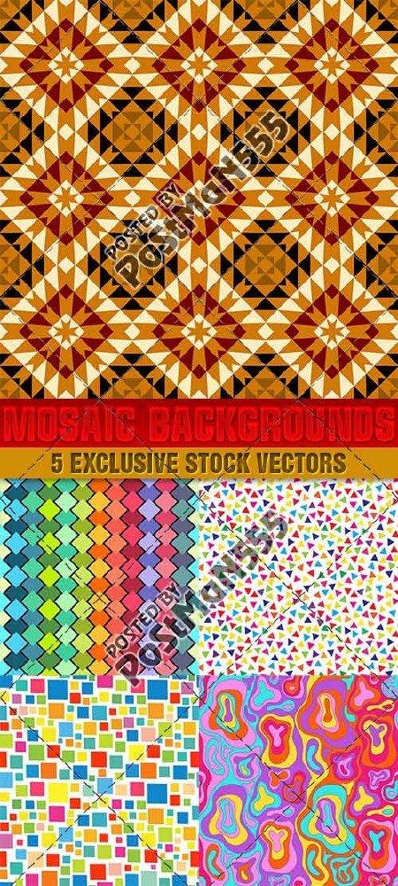 Креативные мозаичные фоны, текстуры | Creative mosaic backgrounds, textures ...