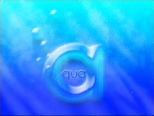 Видеоурок для photoshop - Aqua