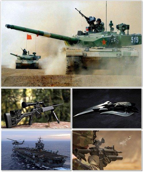Обои с различными видами оружия на рабочий стол 2