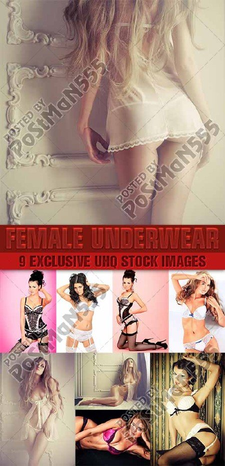 Красивое нижнее белье | Beautiful lingerie, 3 - Стоковый клипарт