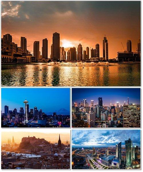 Фото архитектуры крупных городов мира на фон рабочего стола 29