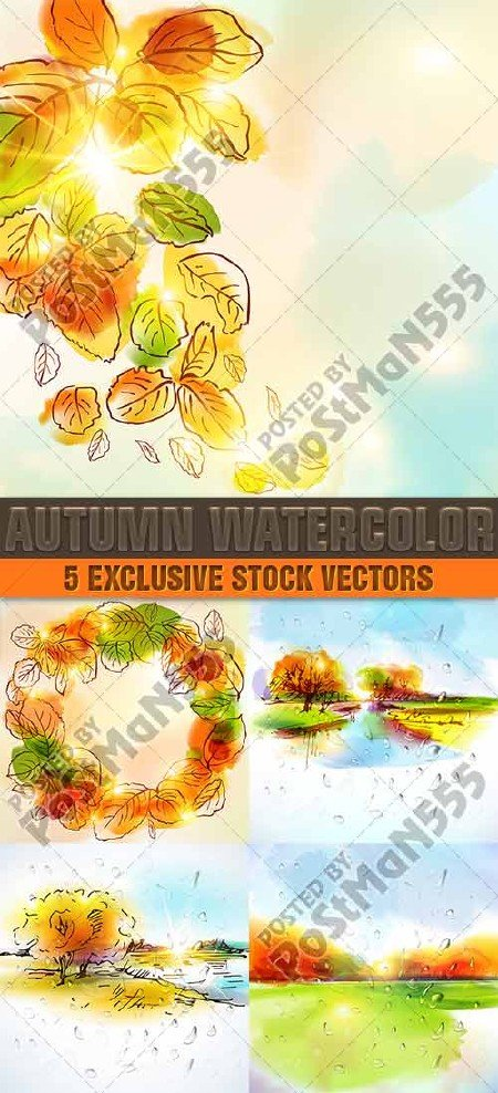 Осенние фоны, яркие краски осени | Autumn backgrounds, bright paints of aut ...