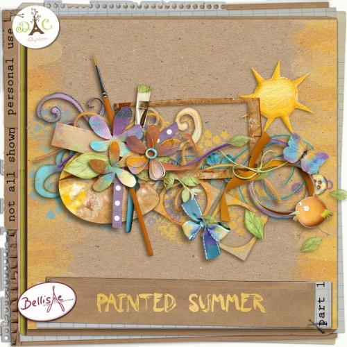 Скрап-набор Painted summer