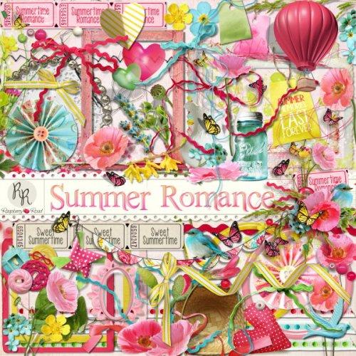 Скрап-набор  Summer Romance