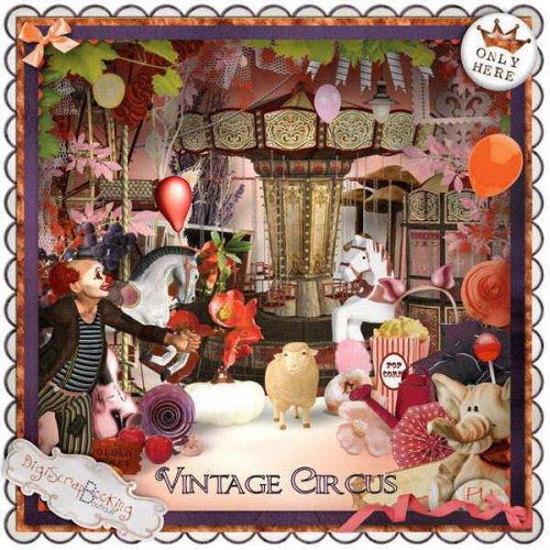 Скрап-набор Vintage Circus