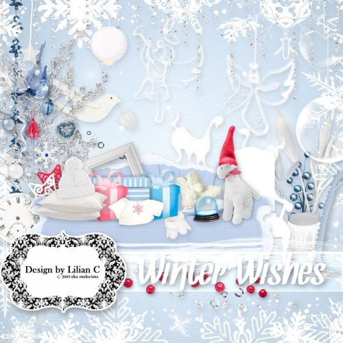 Скрап-набор Winter Wishes