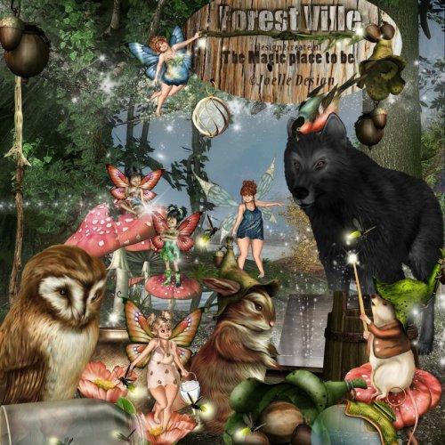 Скрап-набор Forest Ville