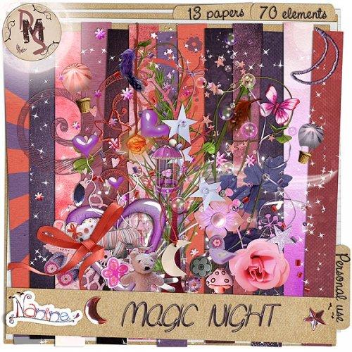 Скрап-набор Magic night