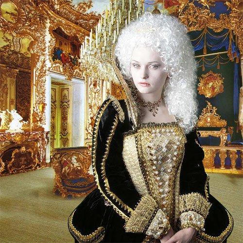 Шаблон женский ''Снов моих королева ''
