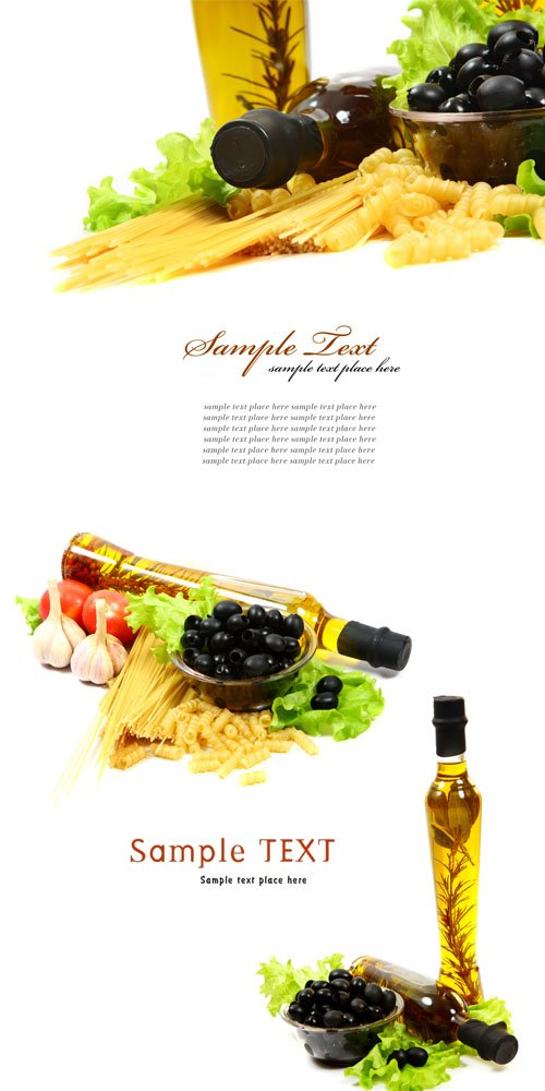 Оливковое масло, сыр и спагетти 5 jpeg