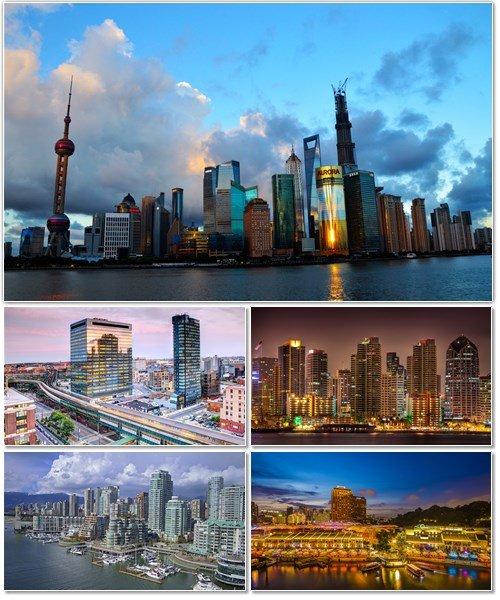 Фото архитектуры крупных городов мира на фон рабочего стола 30