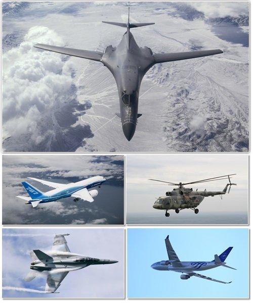 Авиация на обоях для оформления рабочего стола 6