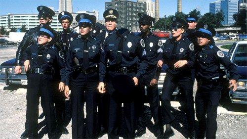 Мужской шаблон - Знаменитая полицейская команда