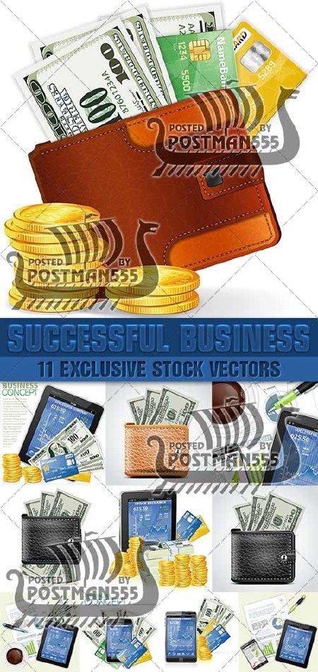 Стратегия успеха в бизнесе | Strategy for Business Success, Вектор