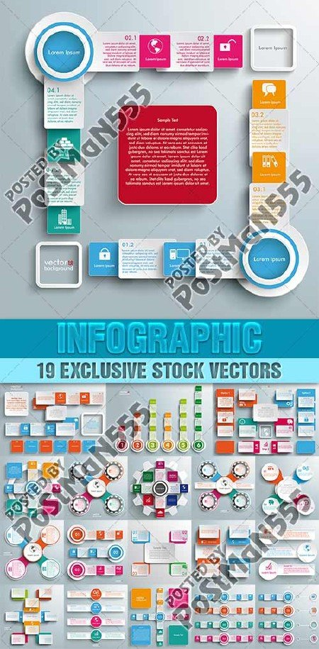 Инфографика для бизнеса | Infographics for Business, 2 - Вектор