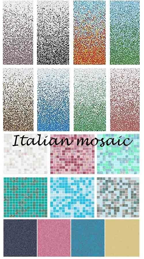 Коллекция текстур итальянской мозаики