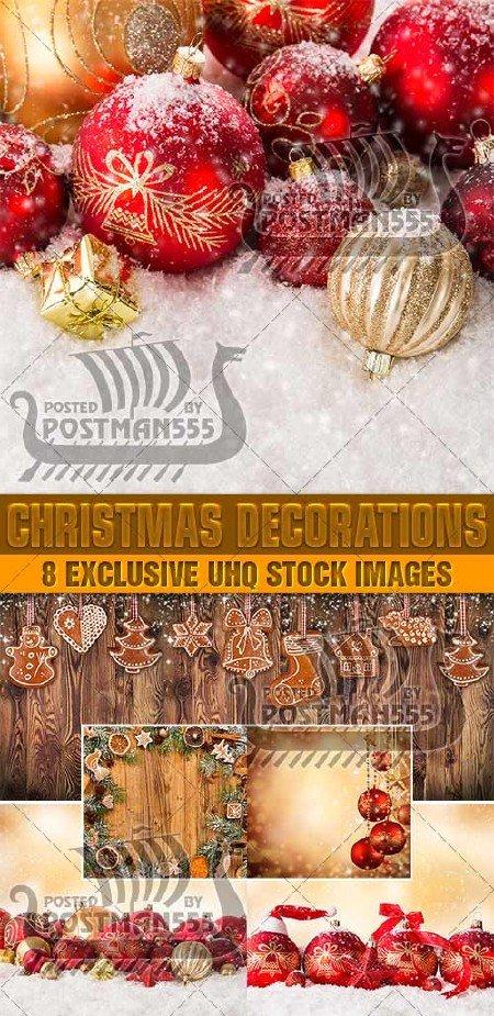 Красивые рождественские украшения для праздника   Beautiful Christmas ornam ...