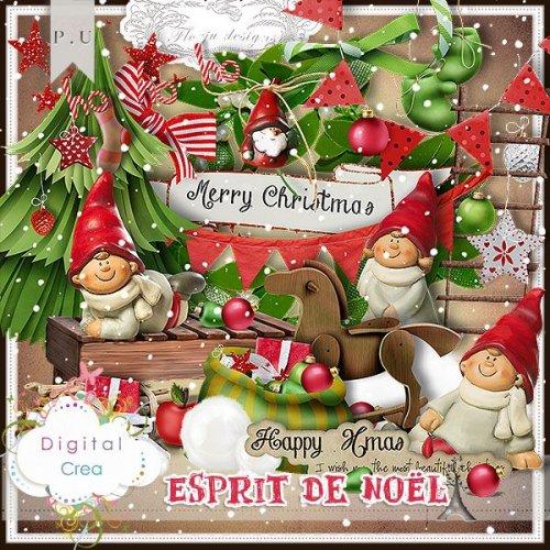 Скрап-набор Esprit de Noel