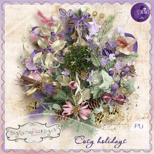 Скрап-набор Cosy holidays