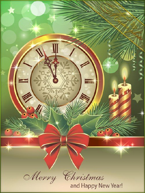 Многослойный PSD исходник для фотошопа - Скоро Новый год