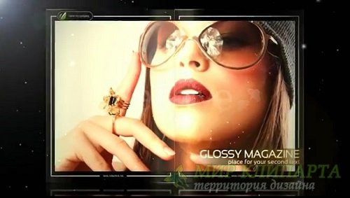 Проект для After Effects - Glossy Magazine HD