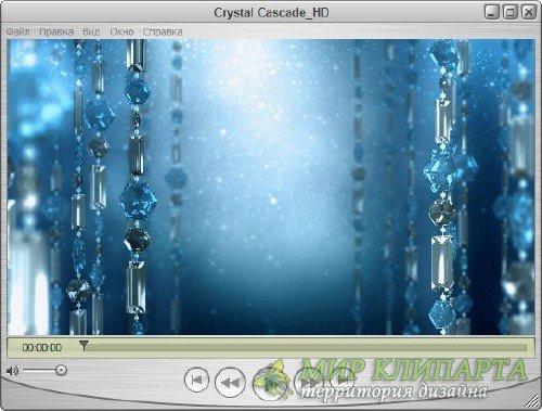 Футаж для оформления видео - Кристальный танец