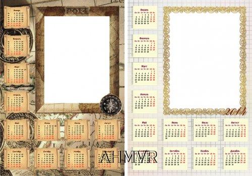 Календарь своими руками фотошоп