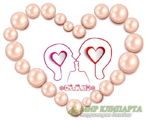 PSD исходник - Romantic Valentine