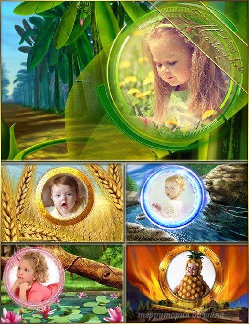 Рамки для photoshop детские - Маленькая сказка