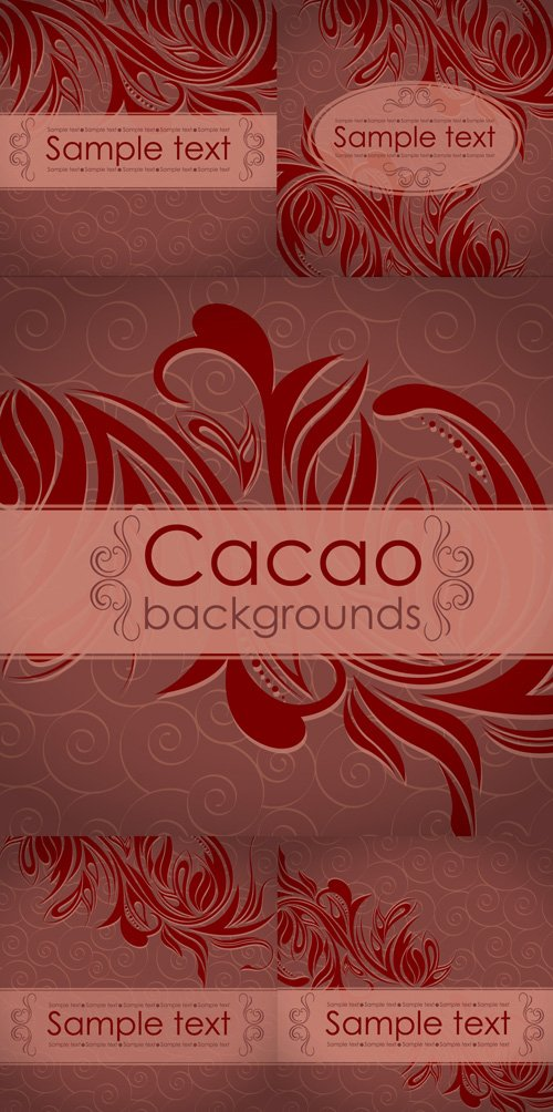 Cacao backgrounds