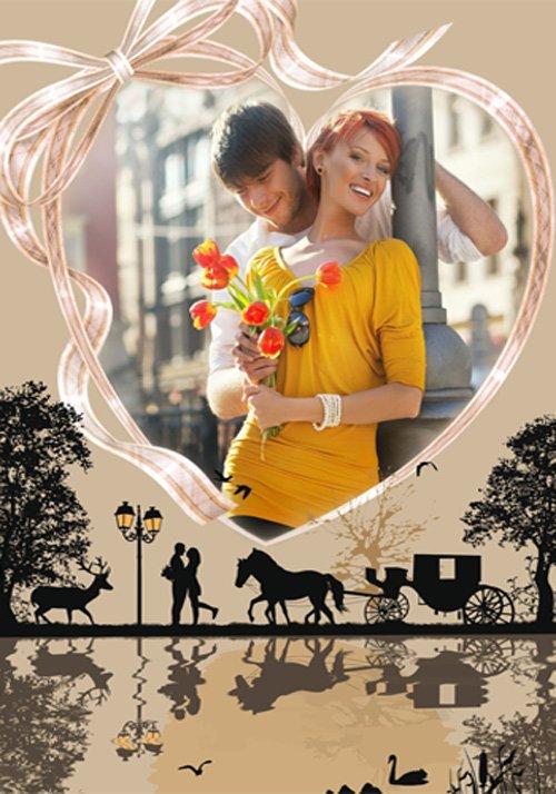 Рамка романтическая  ''Первые свидания ''
