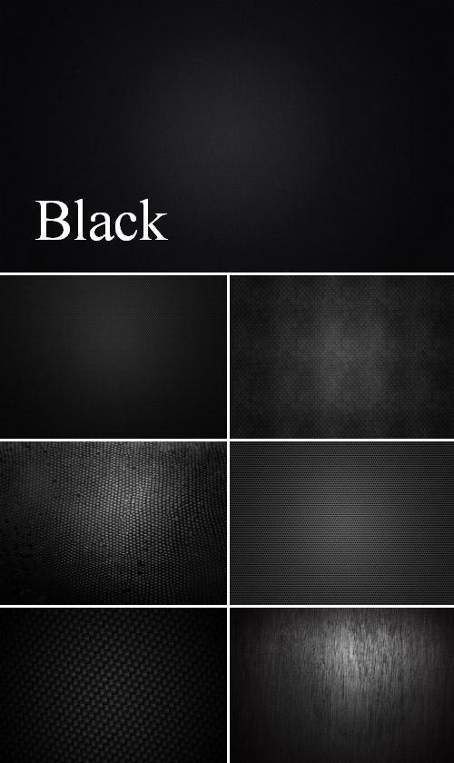 Коллекция черных фонов