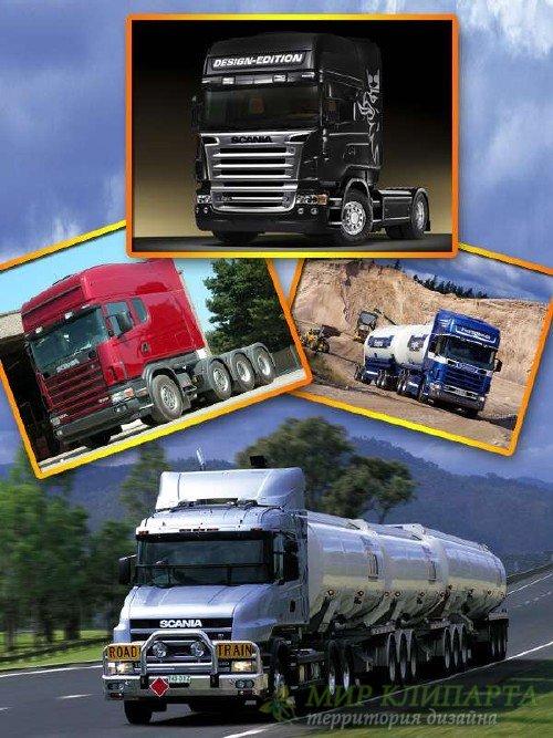Грузовики и седельные тягачи Scania (подборка изображений)