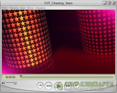 Футаж для оформления видео - За звездами
