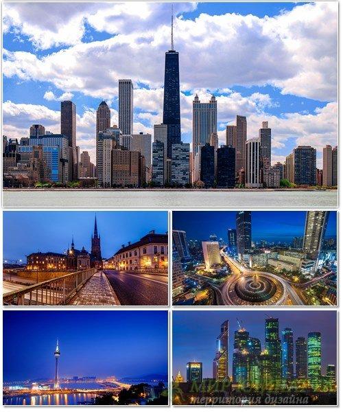 Фото архитектуры крупных городов мира на фон рабочего стола 44