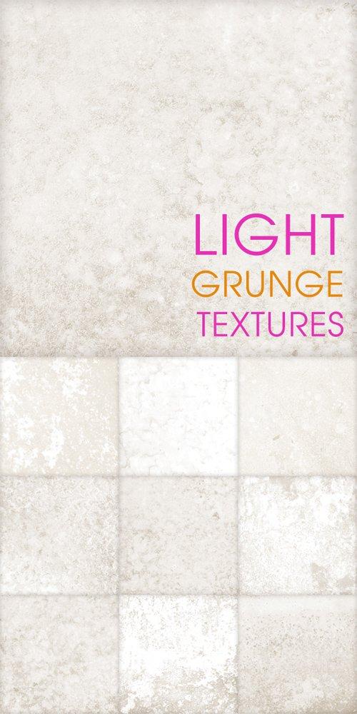 Light grunge textures