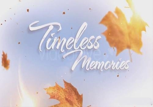 Videohive - Timeless Memories