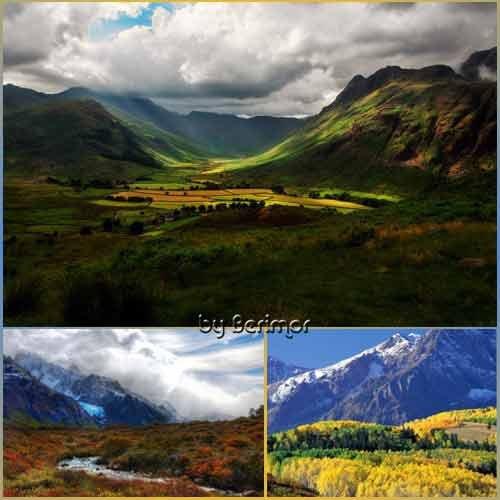 Волшебная осень в невероятно великолепных горах