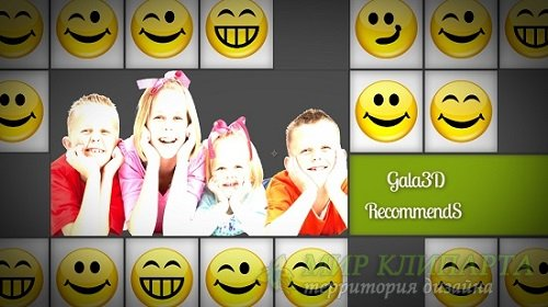 Проект - Smiley Blocks для After Effects