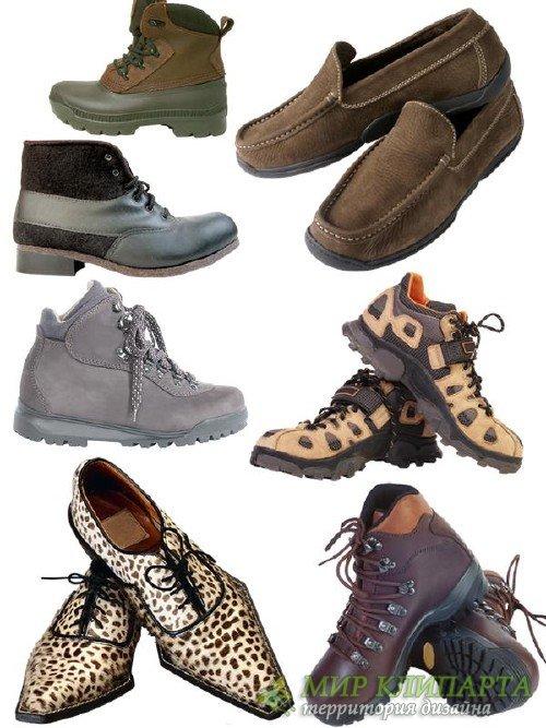 Обувь мужская: туфли и ботинки
